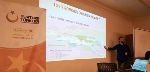 Balkanlardan gelen Din Görevlileri Fakültemizde seminer programlarına katıldılar.